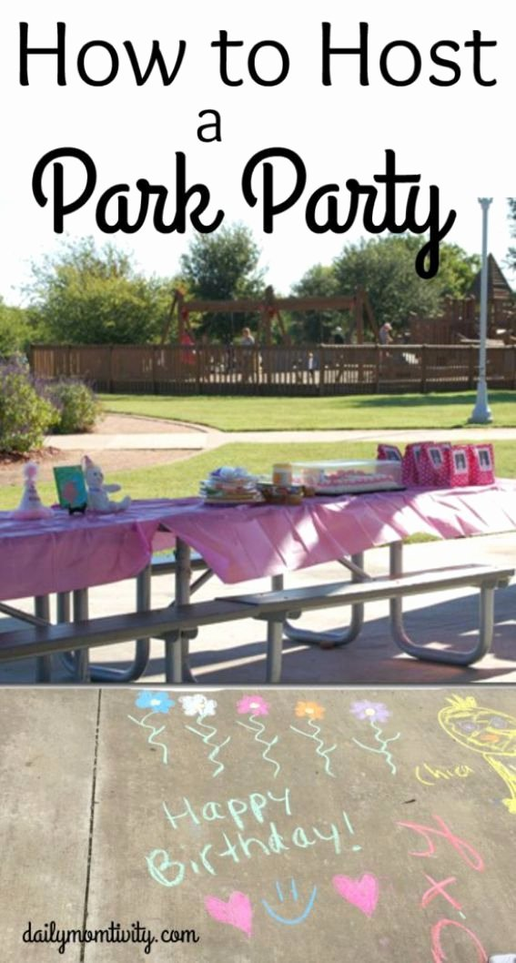 Birthday Decoration Ideas In Park Awesome How to Host A Play Ground Birthday Party for Your Kids