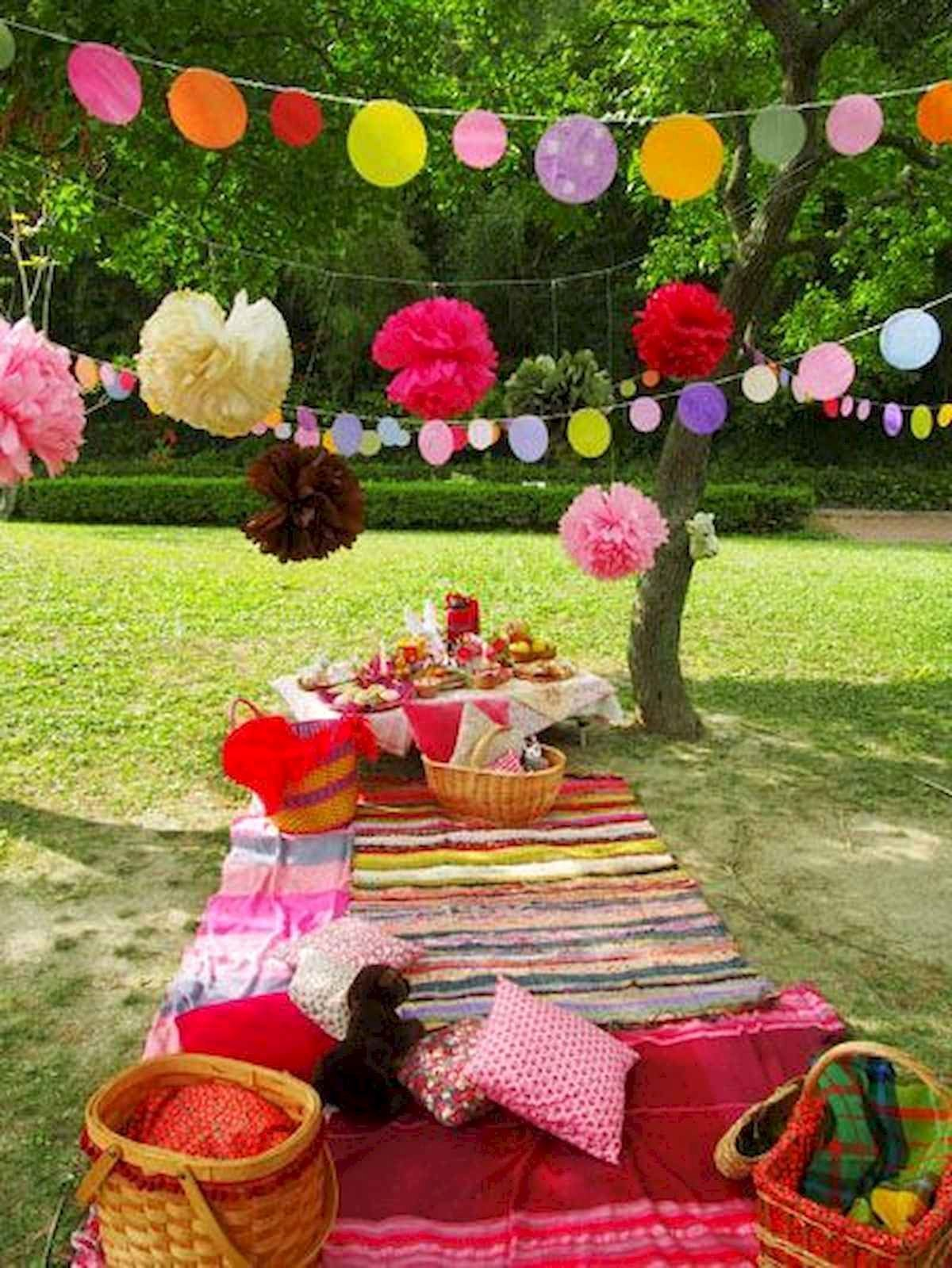 Birthday Decoration Ideas In Park Beautiful 60 Inspiring Outdoor Summer Party Decoration Ideas 30