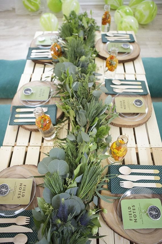 Birthday Decoration Ideas In Park Lovely National Parks Inspired Birthday Party Ideas