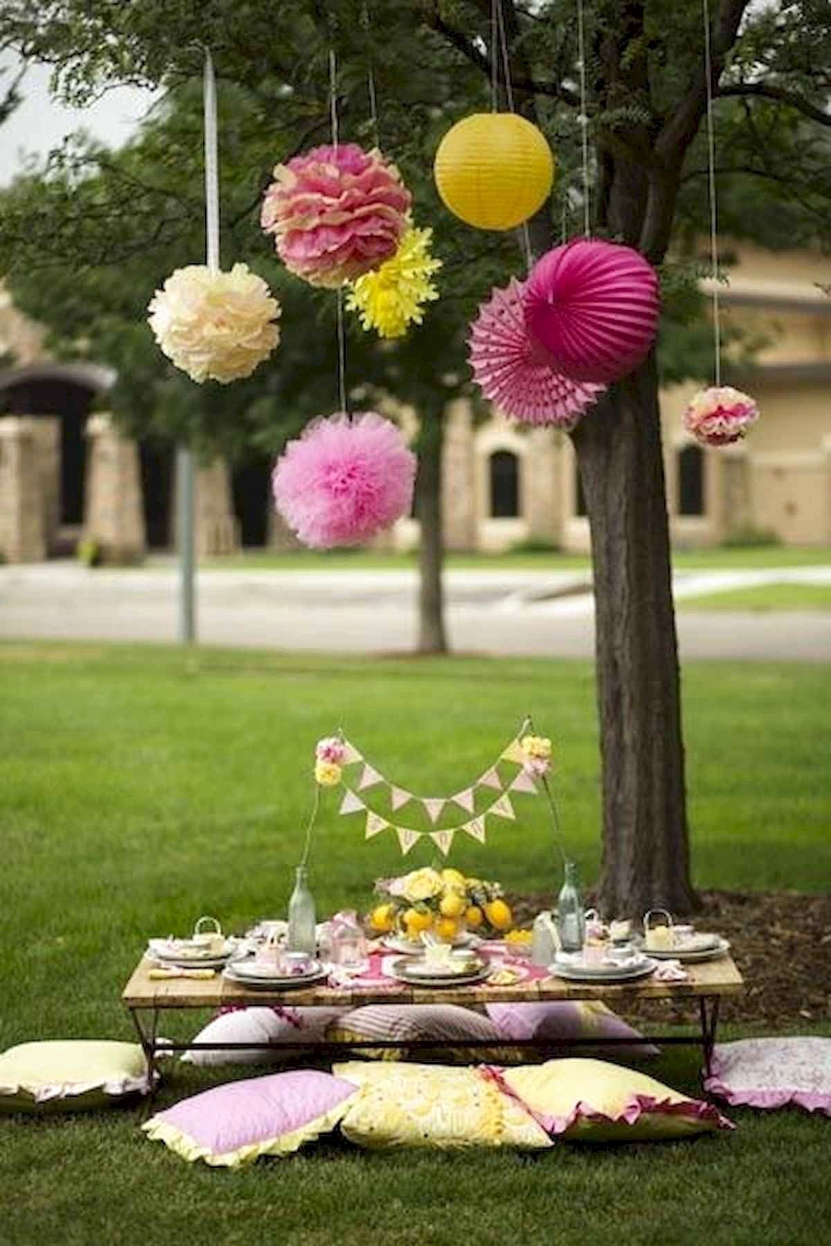 Birthday Decoration Ideas In Park Luxury Best Outdoor Summer Party Decorations Ideas Frugal Living