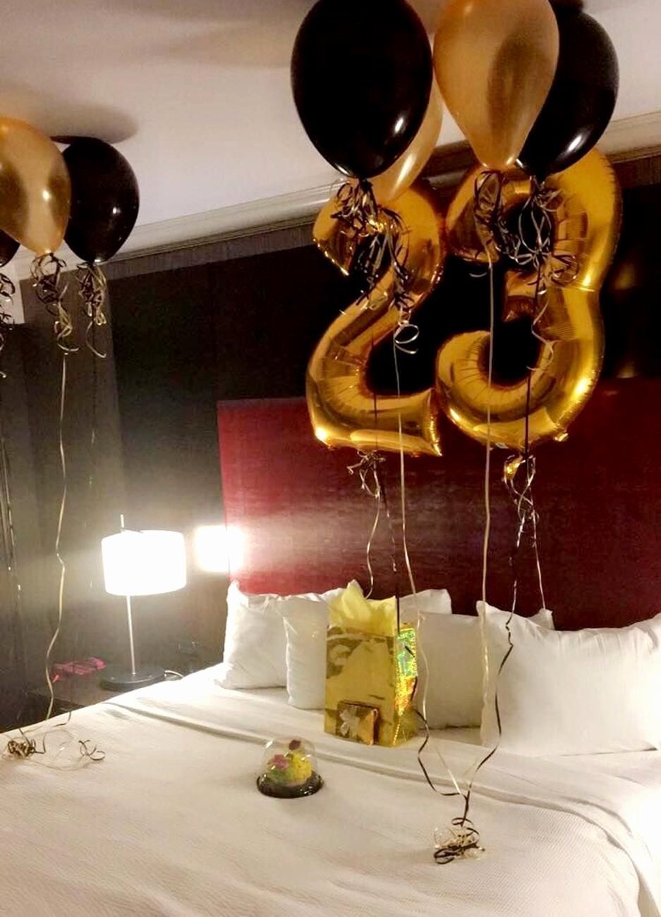 Birthday Decoration Ideas In Room Awesome Decorating Ideas Birthday Surprise 21 Viralinspirations
