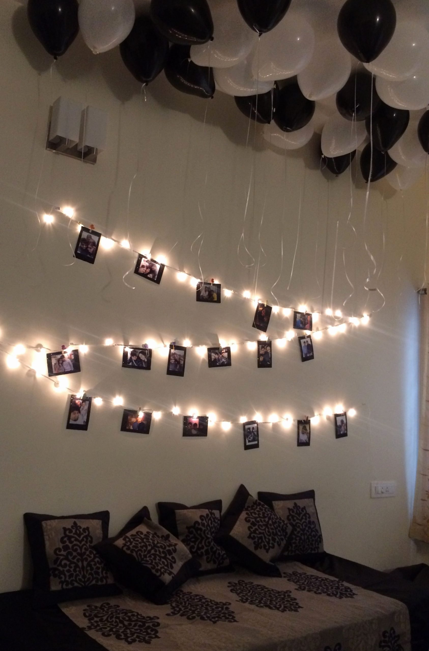 Birthday Decoration Ideas In Room Luxury Birthday Surprise for Brother