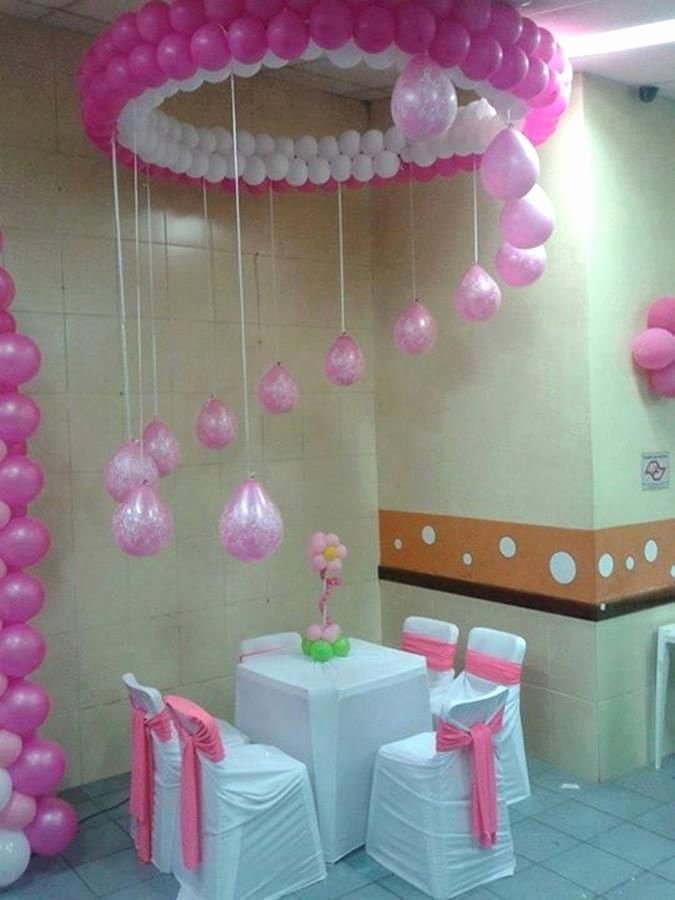 Birthday Decoration Ideas with Balloons at Home Beautiful Kids Birthday Party Decoration Ideas at Home 13 In 2020