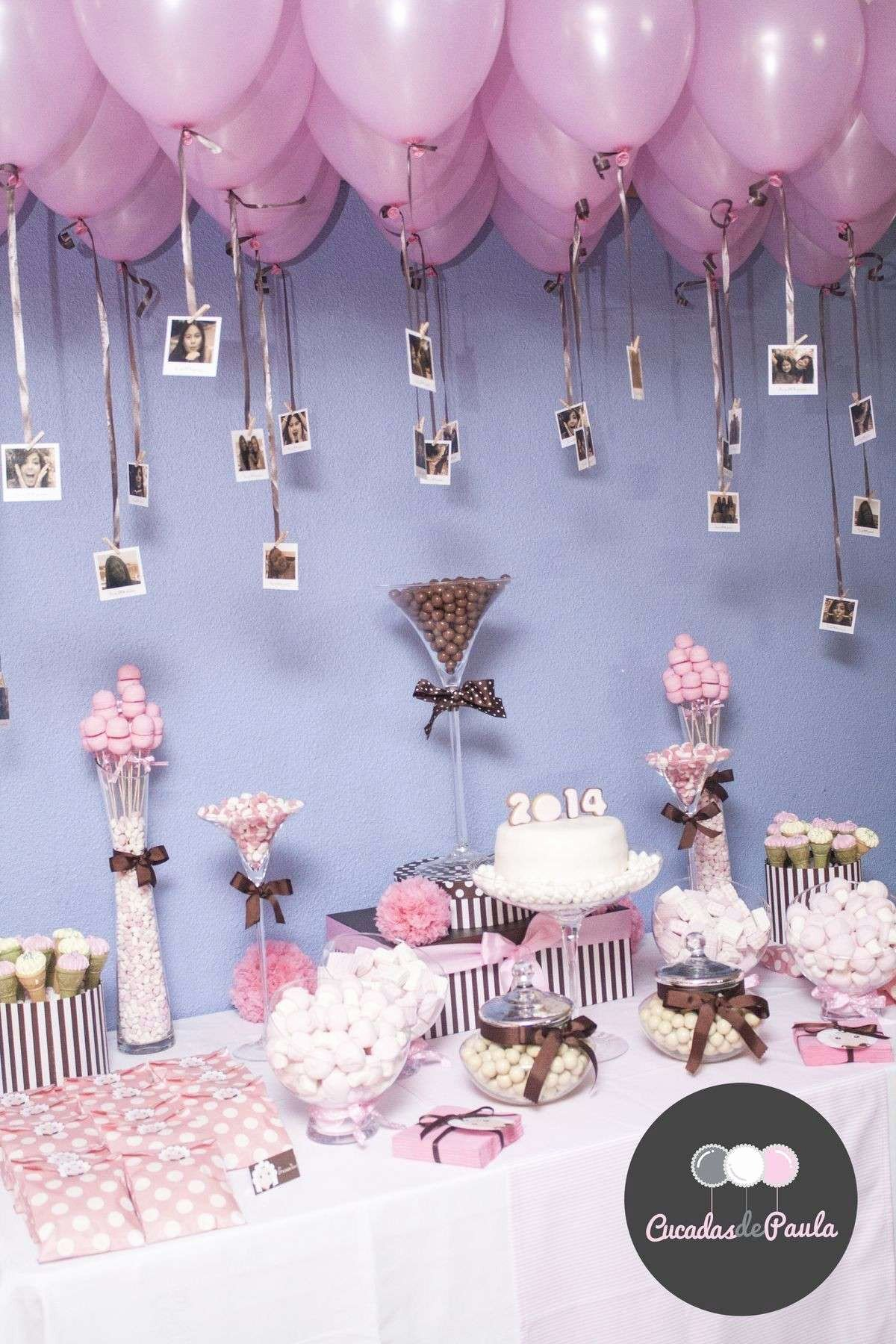 Birthday Decoration Ideas with Balloons at Home Best Of Awesome First Birthday Decoration Ideas at Home for Girl