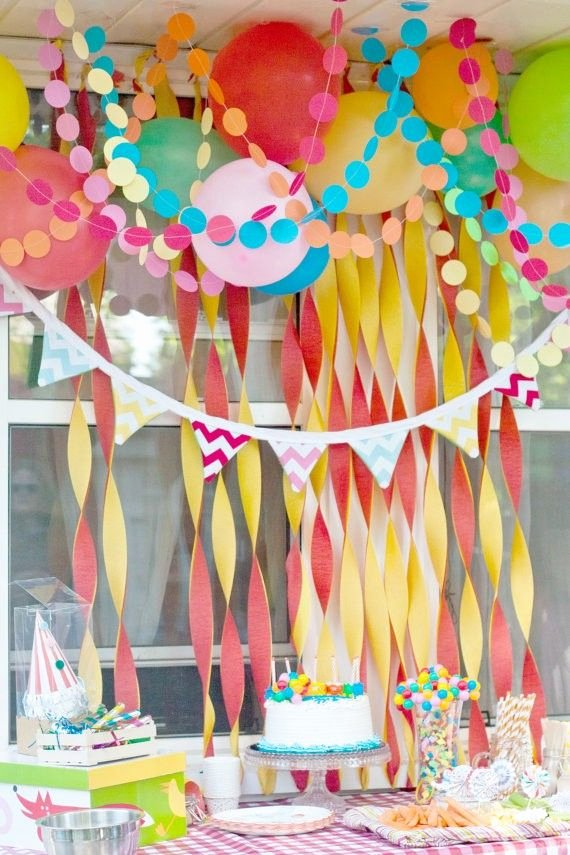 Birthday Decoration Ideas with Crepe Paper Unique Create Your Own Easter Backdrop Using Crepe Papers In Yellow