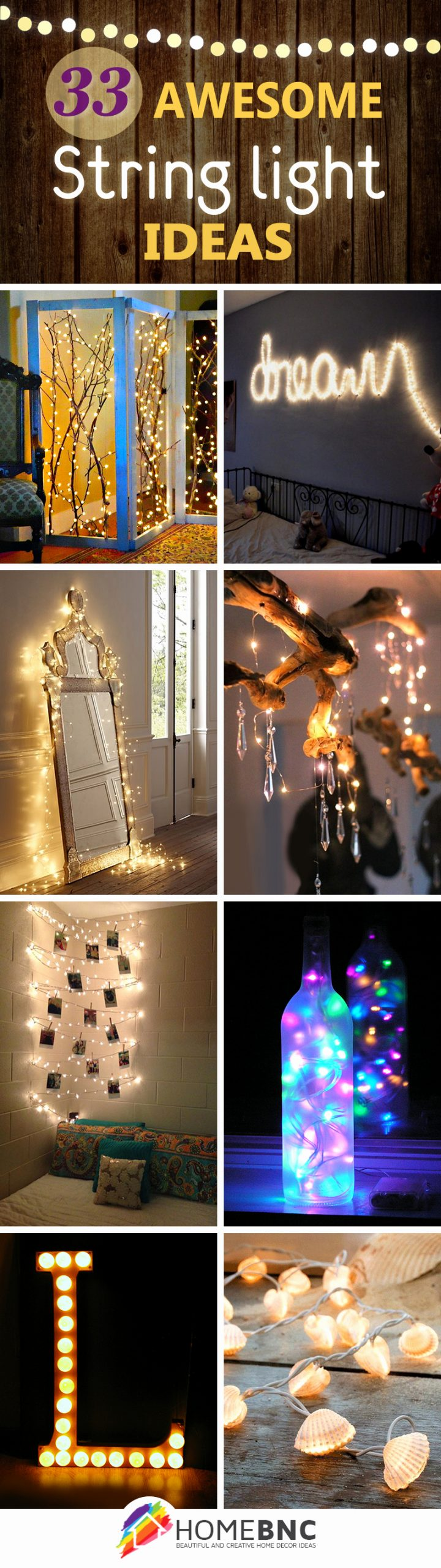 Birthday Decoration Ideas with Led Lights Awesome 33 Best String Lights Decorating Ideas and Designs for 2020