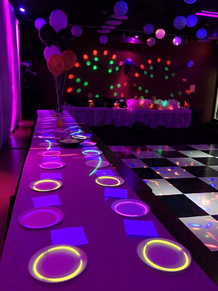 Birthday Decoration Ideas with Led Lights Beautiful Get the Party Rocking with some Glow S Glowproducts