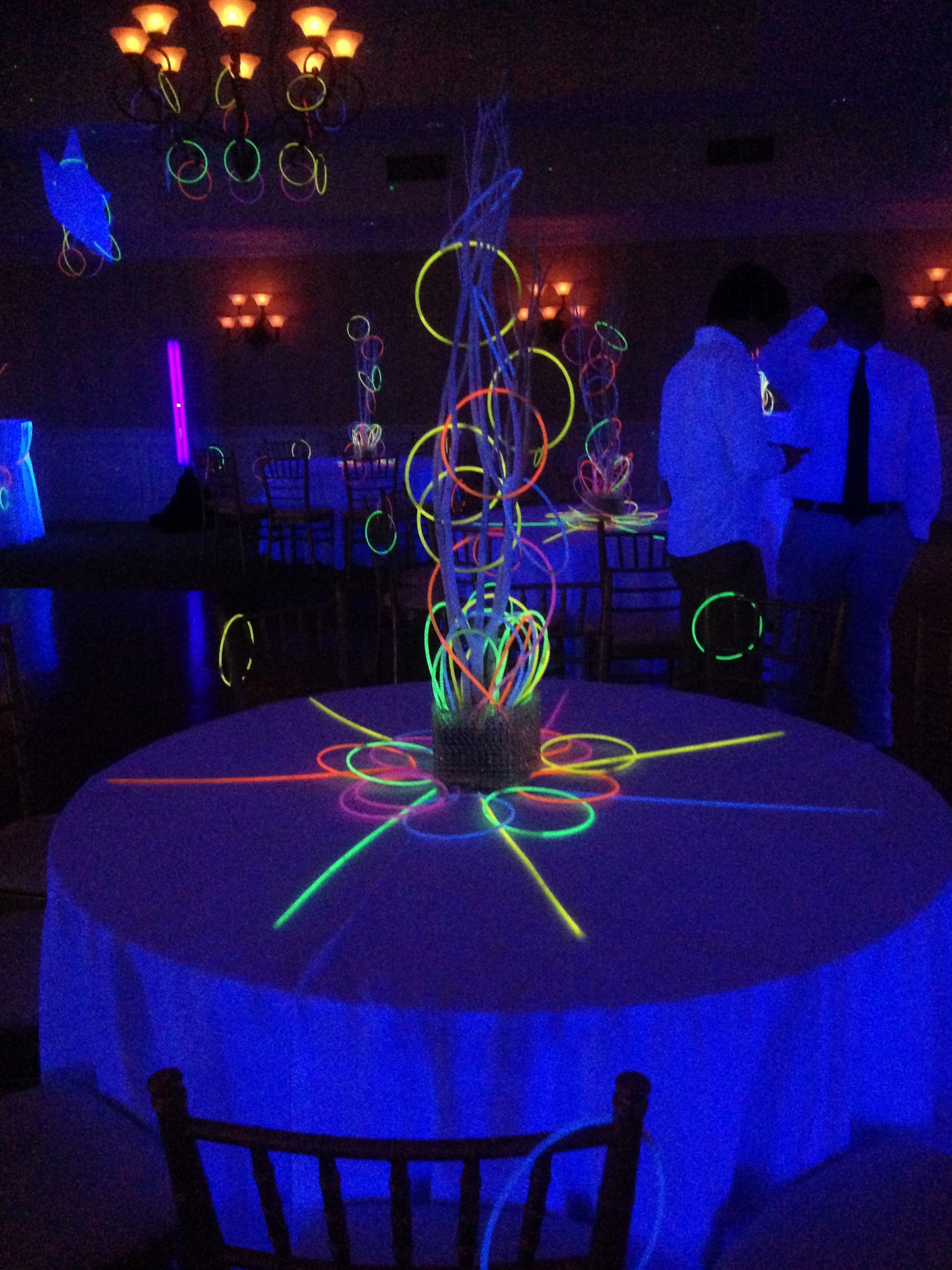 Birthday Decoration Ideas with Led Lights New Using Glow Necklaces as Glow Party Decorations and