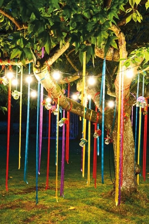 Birthday Decoration Ideas with Lights Inspirational Party Light Idea Wishing I Had A Tree In My Backyard