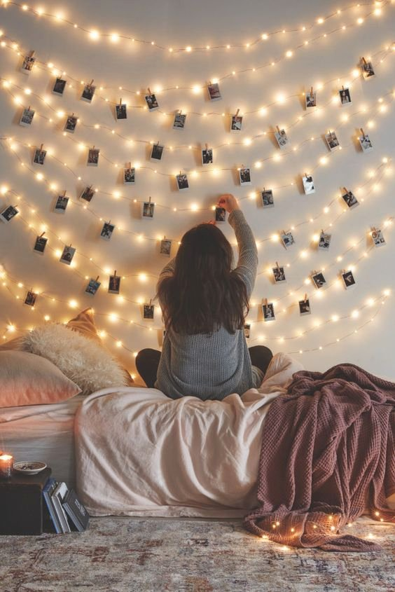Birthday Decoration Ideas with Lights Lovely Wall Decal Idea Wall Decor Ideas with Lights