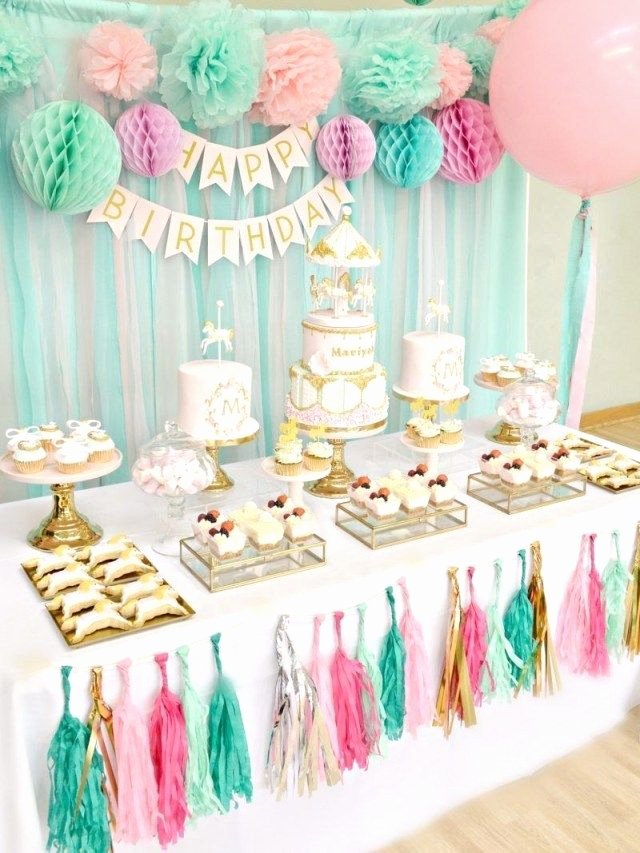 Birthday Decoration Ideas with Photos New 20 tolles Bild Von Geburtstagstorte Tischdekoration Ideen