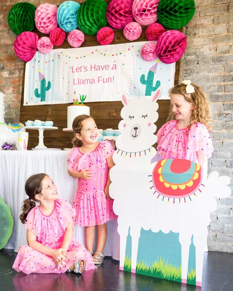 Birthday Decoration Ideas with Pictures Elegant Llama Birthday Party Ideas for A Colorful Llama Party