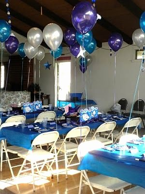 Blue and Silver Birthday Decoration Ideas Best Of My Little Cottage In the Making Magic Party