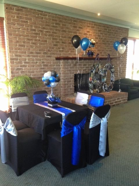 Blue and Silver Birthday Decoration Ideas Fresh Pin by Lekeisha Bryant On My Creations