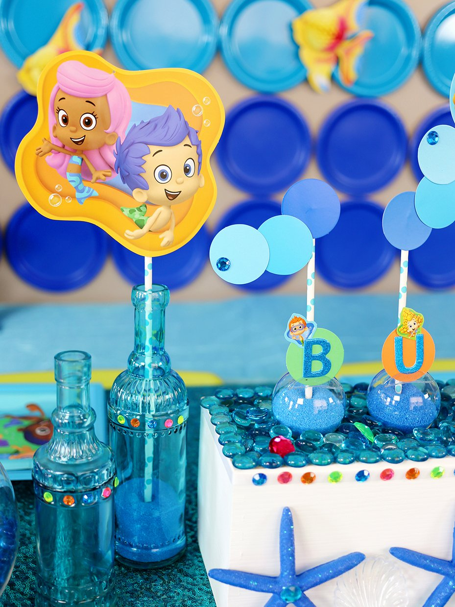 Bubble Guppies Birthday Decoration Ideas Awesome Bubble Guppies™ Diy Party Ideas
