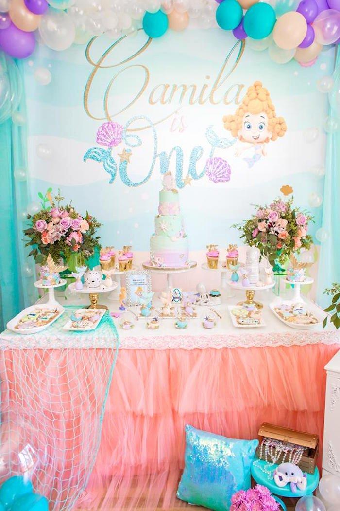 Bubble Guppies Birthday Decoration Ideas Fresh Kara S Party Ideas Bubble Guppies Birthday Party