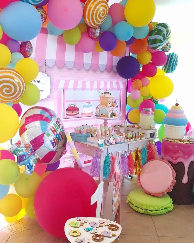 Candyland Birthday Decoration Ideas Awesome Candyland Birthday Party Ideas 1 Of 16