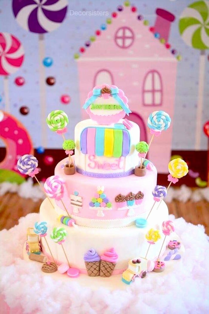 Candyland Birthday Decoration Ideas Best Of Kara S Party Ideas Candy Land Birthday Party