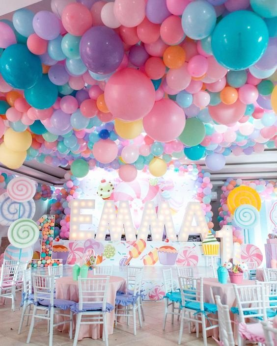 Candyland Birthday Decoration Ideas Elegant 56 Amazing Balloon Decor Ideas for All Celebration