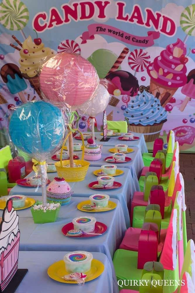 Candyland Birthday Decoration Ideas Lovely Candy Land Birthday Party Ideas 1 Of 61