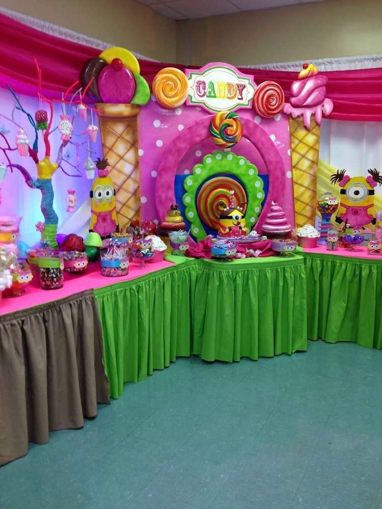 Candyland Birthday Decoration Ideas Luxury Birthday Party Ideas 10 Of 21