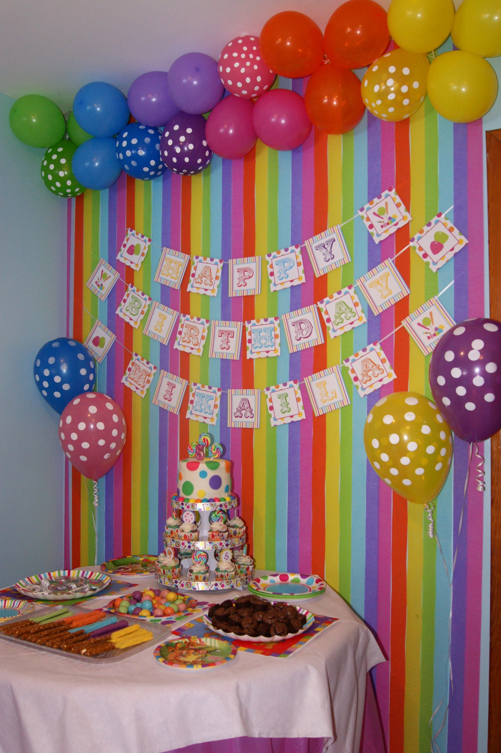 Candyland Birthday Decoration Ideas New Candy Land Party