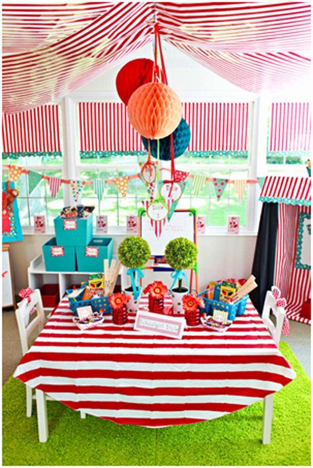 Carnival Birthday Decoration Ideas Fresh Carnival Birthday Party Decorations — Givdo Home Ideas