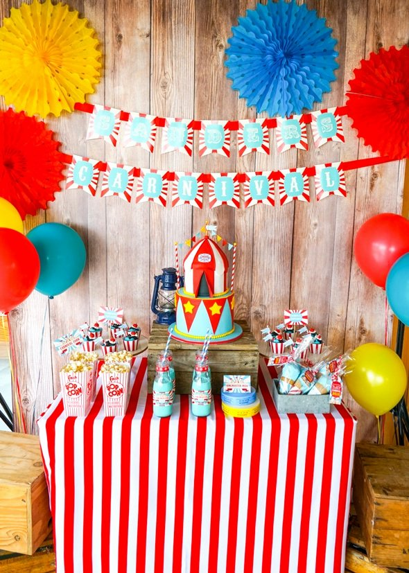Carnival Birthday Decoration Ideas Luxury 23 Incredible Carnival Party Ideas Pretty My Party