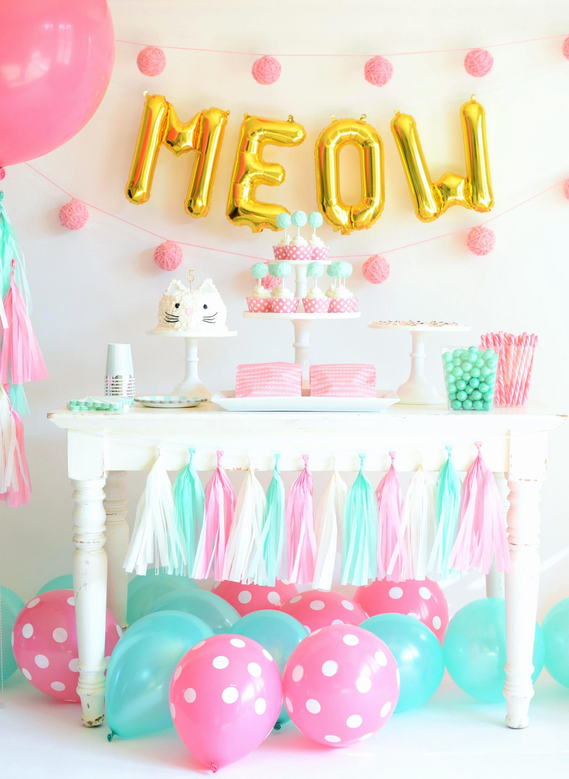 Cat Birthday Decoration Ideas Beautiful How to Throw the Purr Fect Kitten Party Project Nursery