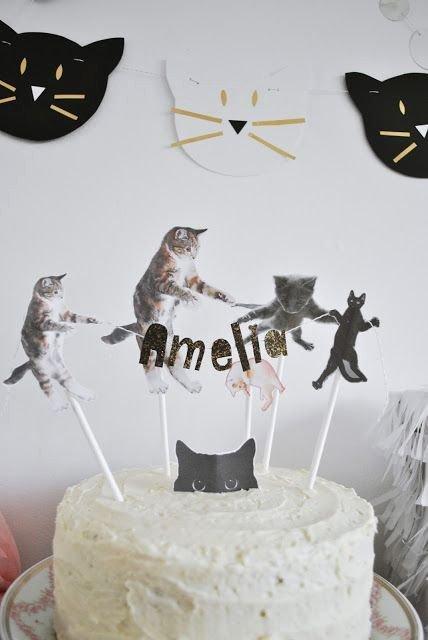 Cat Birthday Decoration Ideas Lovely Amelia S Kitty Cat Birthday Party