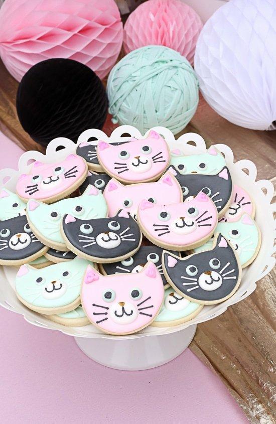 Cat Birthday Decoration Ideas Luxury 30 Cute Cat Birthday Party Ideas Pretty My Party Party Ideas