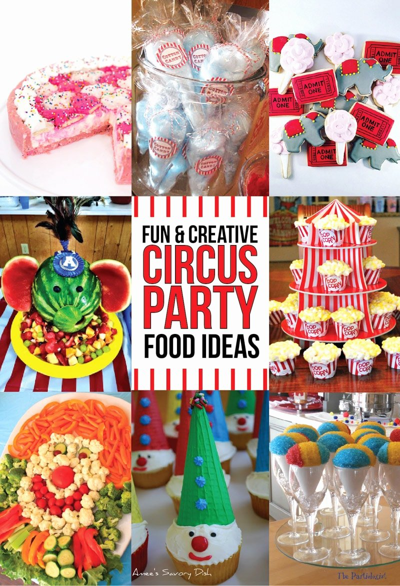 Circus Birthday Decoration Ideas Inspirational 41 Of the Greatest Circus theme Party Ideas Play Party Plan
