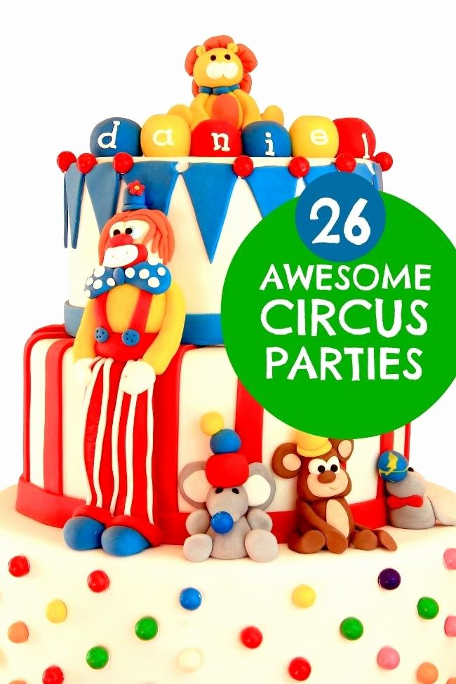 Circus Birthday Decoration Ideas Luxury 26 Circus Birthday Parties Spaceships and Laser Beams