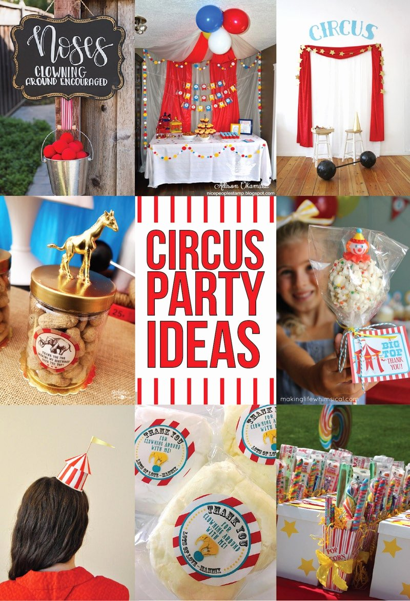 Circus Birthday Decoration Ideas New 41 Of the Greatest Circus theme Party Ideas Play Party Plan