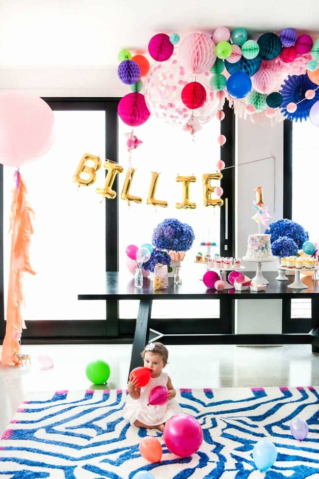 Colorful Birthday Decoration Ideas Beautiful 10 Colourful and Fun Party Ideas Tinyme Blog