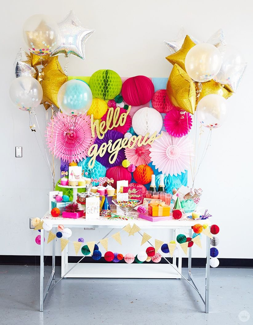 Colorful Birthday Decoration Ideas Beautiful How to Create A Signaturestyle Party Inspired by the