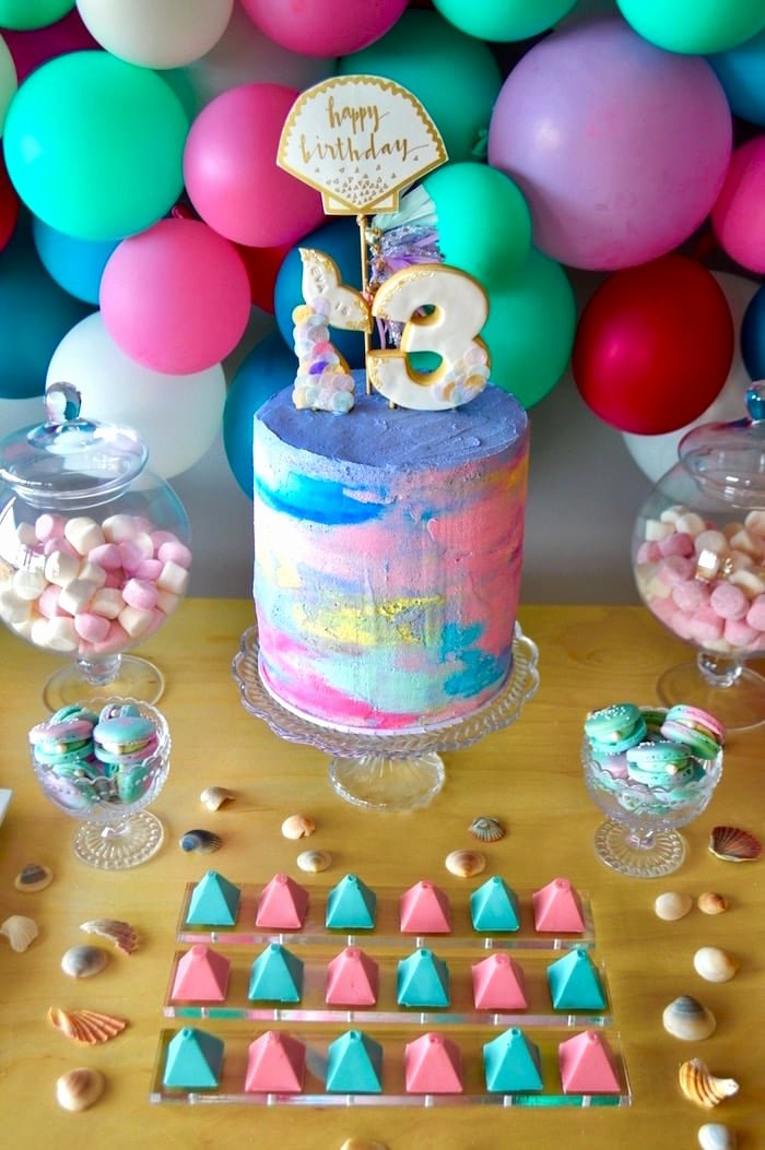 Colorful Birthday Decoration Ideas Best Of Colorful Mermaid Birthday Party Ideas