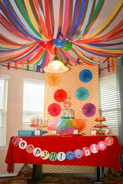 Colorful Birthday Decoration Ideas Fresh Art Party Birthday Party Ideas 22 Of 37