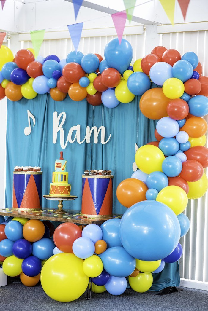 Colorful Birthday Decoration Ideas Luxury Kara S Party Ideas Colorful Music Birthday Party