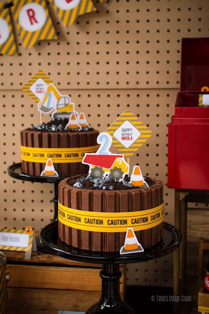 Construction Birthday Decoration Ideas Best Of Kara S Party Ideas Rugged Construction Birthday Party