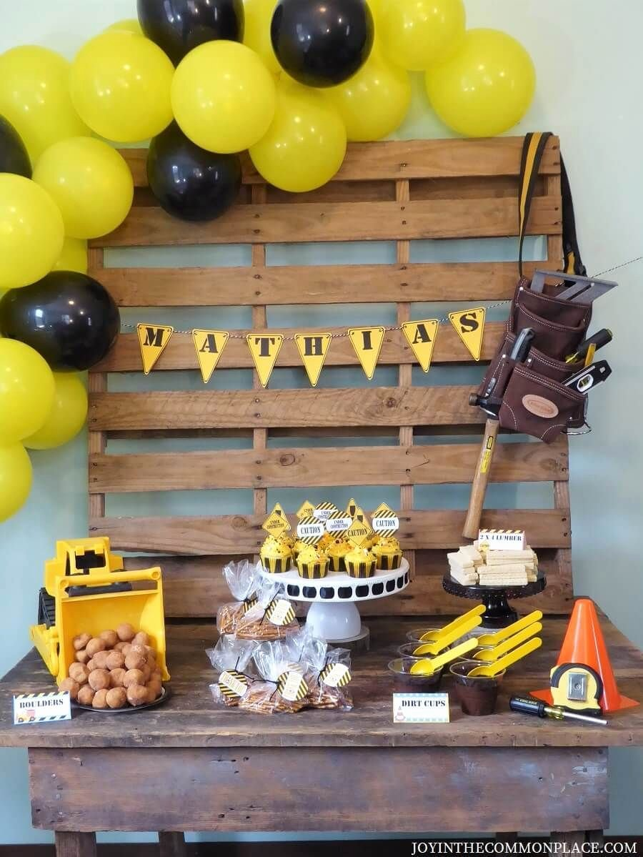 Construction Birthday Decoration Ideas Best Of Throw A Construction theme Party for Kids