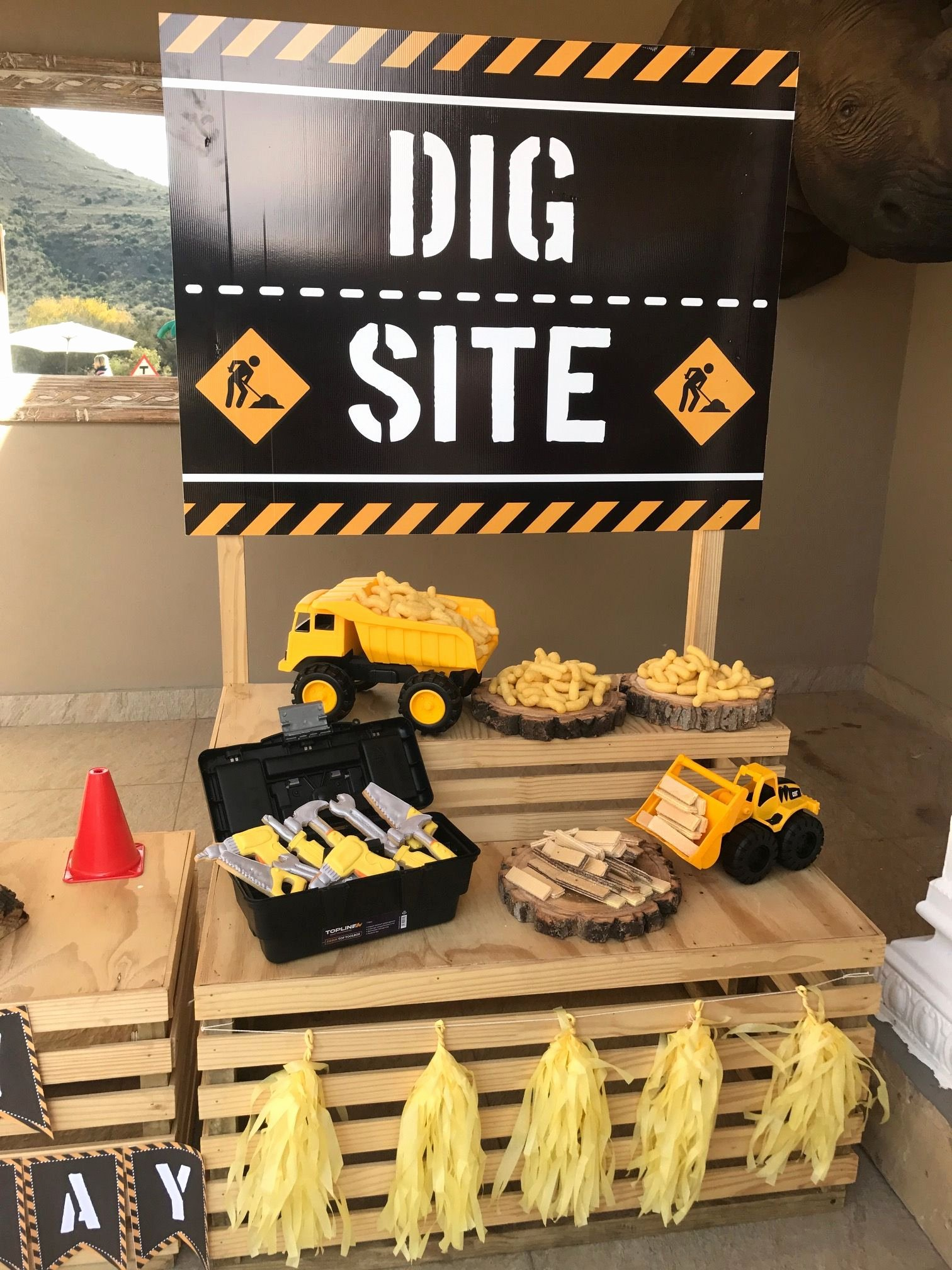 Construction Birthday Decoration Ideas Inspirational Construction Party Ideas Construction Party Decorations