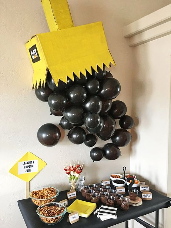 Construction Birthday Decoration Ideas Luxury 21 Awesome Construction Birthday Party Ideas Pretty My Party