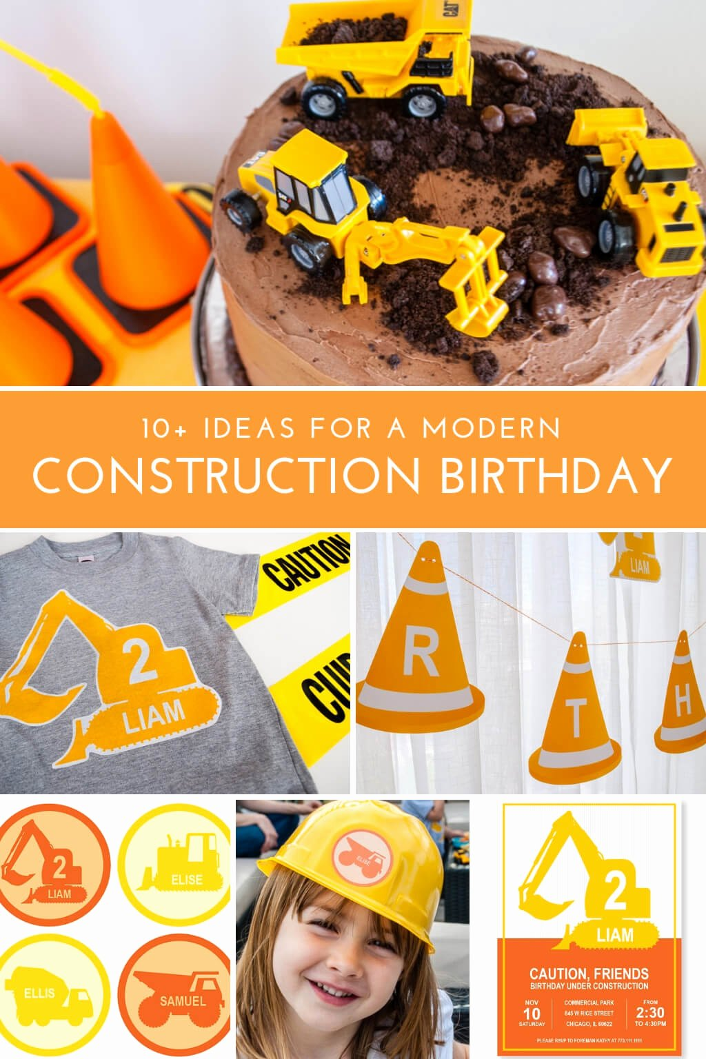 Construction Birthday Decoration Ideas Luxury Construction Birthday Party Ideas Modern Decorations