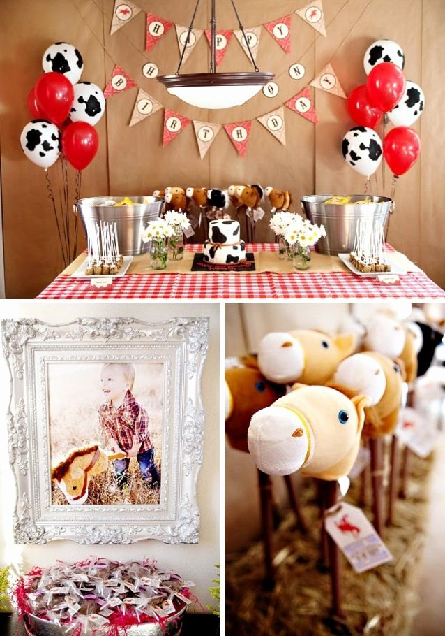 Cowboy Birthday Decoration Ideas Awesome Cowboy themed Birthday Party Kara S Party Ideas