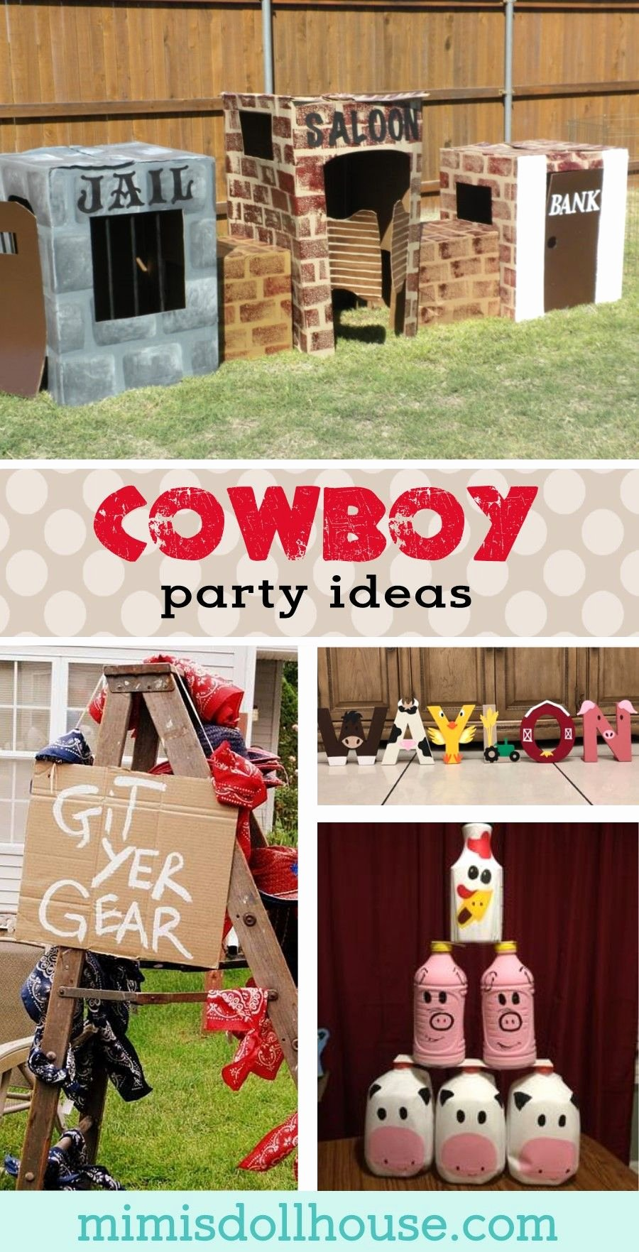 Cowboy Birthday Decoration Ideas Inspirational Cowboy Party Ideas How to Throw A Western themed Party