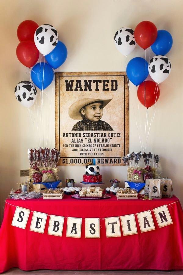 Cowboy Birthday Decoration Ideas New Wild Western Cowboy Party