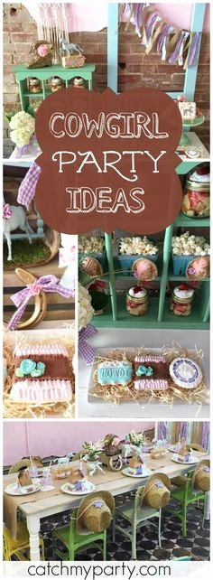 Cowgirl Birthday Decoration Ideas Awesome Cowgirl Party Ideas