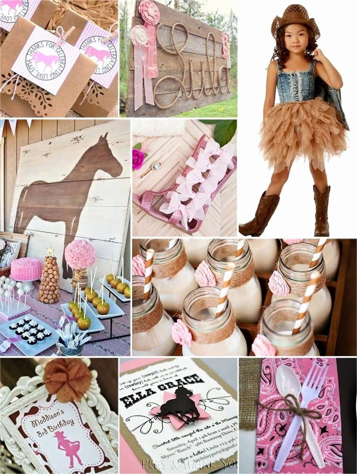 Cowgirl Birthday Decoration Ideas Inspirational Jules Got Style Cowgirl Rodeo Birthday Party Ideas