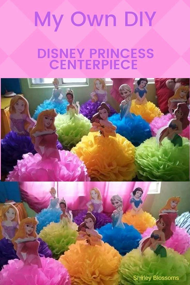Disney Birthday Decoration Ideas Awesome Disney Princess theme Birthday Party Ideas